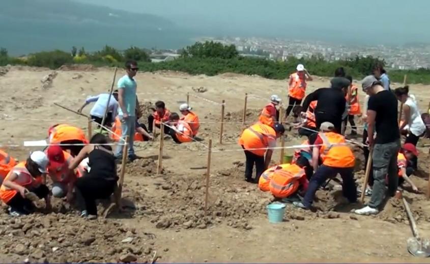Minik Öğrenciler Çocuk Üniversitesinde Arkeolog Oldu