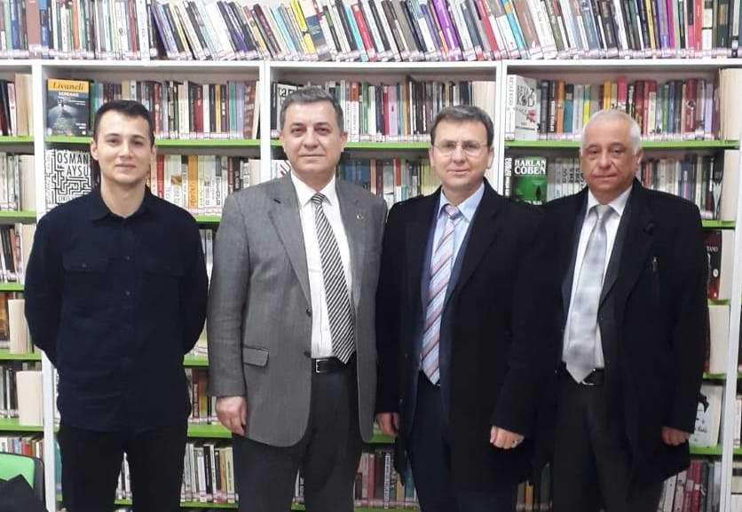 Kültür Turizm Müdürü Kemal Dokuz'dan İlçe Halk Kütüphanelerine Ziyaret