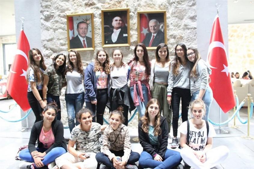 Kuzey Kıbrıs Türk Cumhuriyeti Gençleri Çanakkale'de