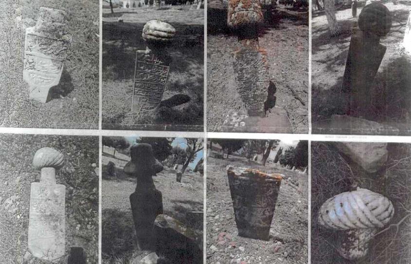 Lapseki'deki Tarihi Mezarlık Koruma Altına Alındı