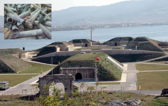 Namazgah Tabyası'ndaki Tarihi Mermiler Çalındı!