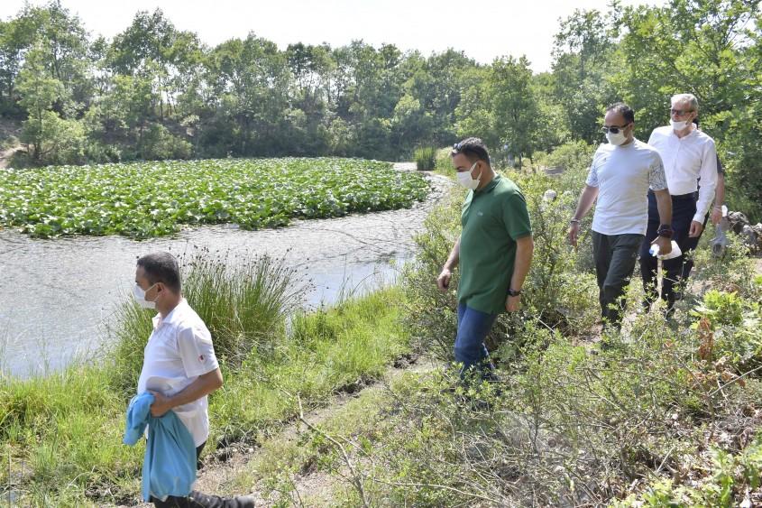 Nilüfer Gölü ve Abdiağa Trekking Alanı Turizme Katkı Sağlayacak