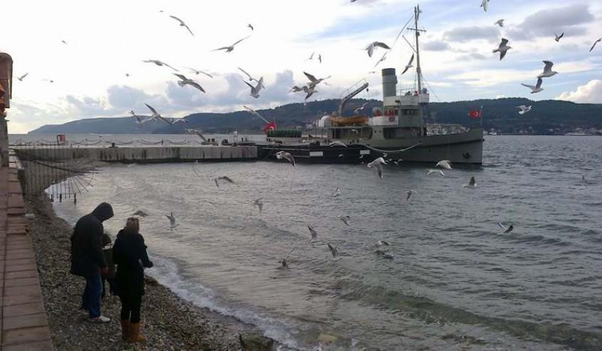 Nusret Mayın Gemisi 5 Ay Sonra Çanakkale'de