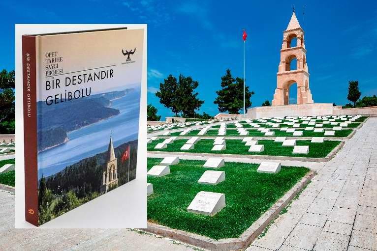 """""""OPET Tarihe Saygı Projesi"""" Kitaba Dönüştü"""