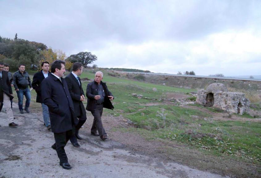 Özbek Köyü'ndeki Tarihi Yerler Restore Edilecek