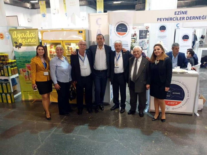 Çanakkale Ürünleri İstanbul Peynir Festivali'nde Yerini Aldı