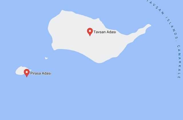 Çanakkale'de 5 Milyon Dolara Satılık Ada!