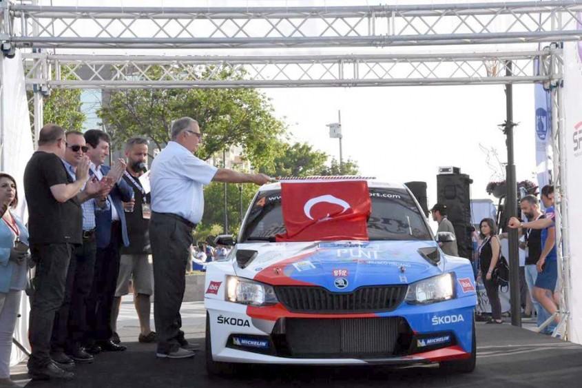 """""""4. Rally Troia Yarışı"""" Başladı"""