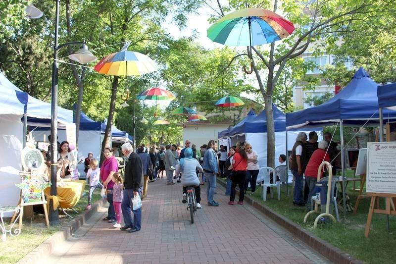 """Çanakkale'de """"2. Sanat Sokakta"""" Buluşması Başladı"""