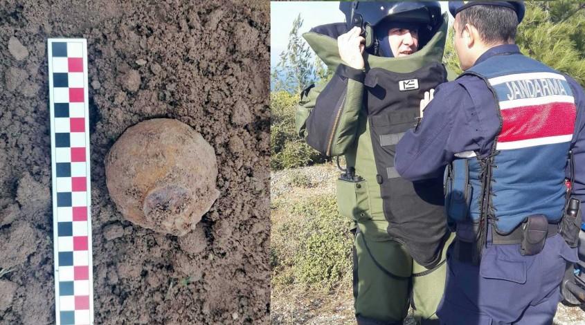 105 Yıllık Tarihi El Bombası Patlatılarak İmha Edildi