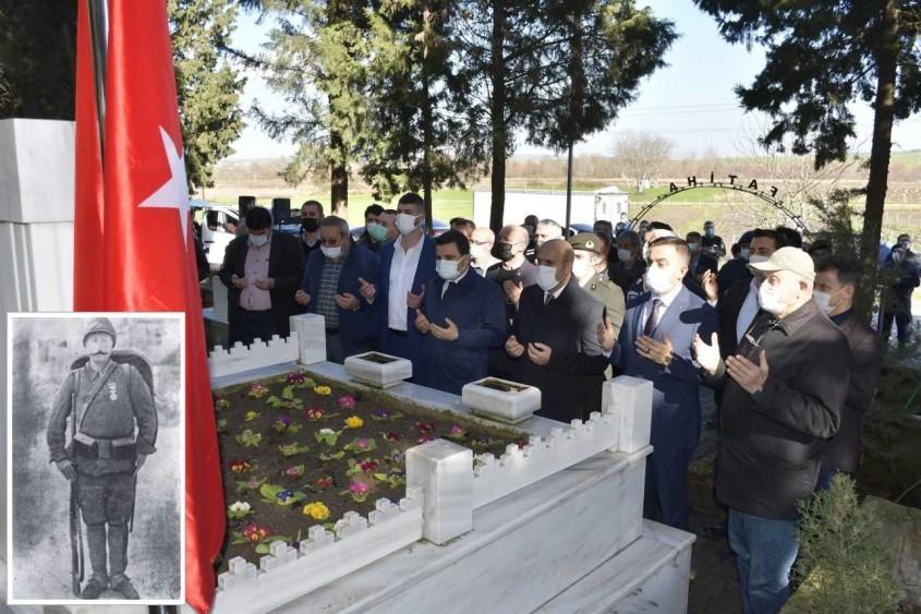 Seddülbahir Kahramanı Bigalı Mehmet Çavuş Törenle Anıldı