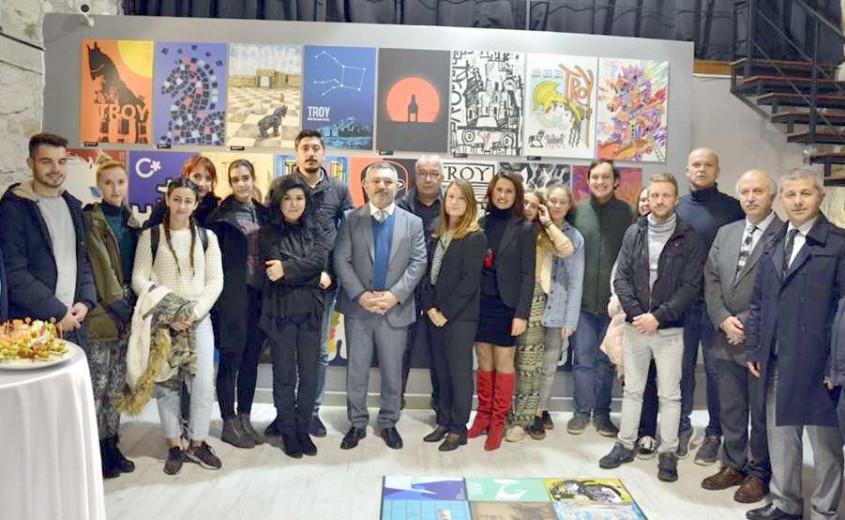 29 Ülkeden 90 Sanatçı Troya İçin ÇOMÜ'de Buluştu