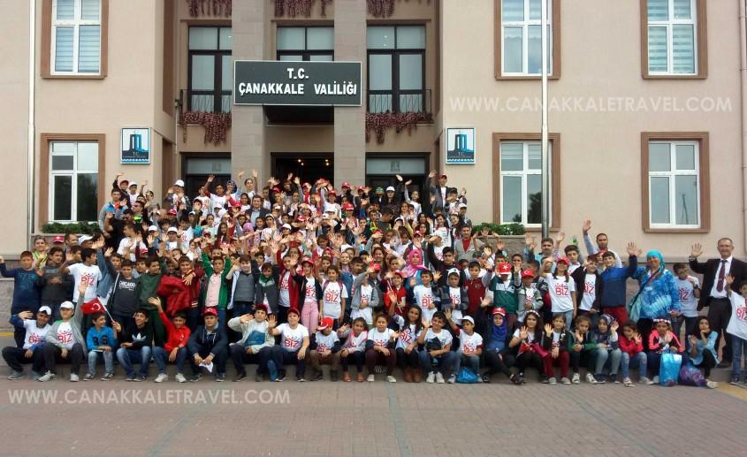 Siirtli 184 Öğrenci Çanakkale'yi Gezdi