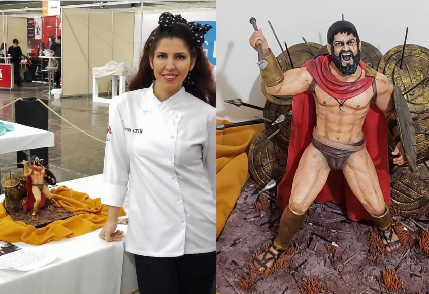 Yaptığı Bu Pasta İle Yunanistan'dan Altın Madalya İle Döndü