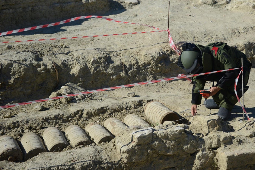 Tarihi Top Mermisi Patlatılarak İmha Edildi
