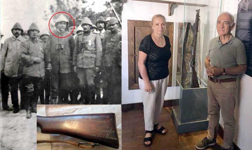 Tarihi Tüfek 103 Yıl Sonra Çanakkale'de...