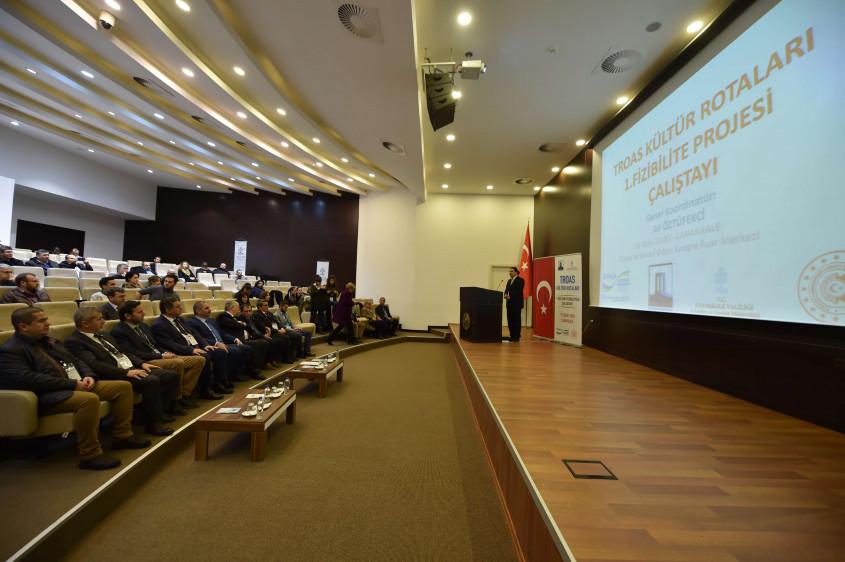 Troas Kültür Rotaları Projesi Çalıştayı Gerçekleştirildi