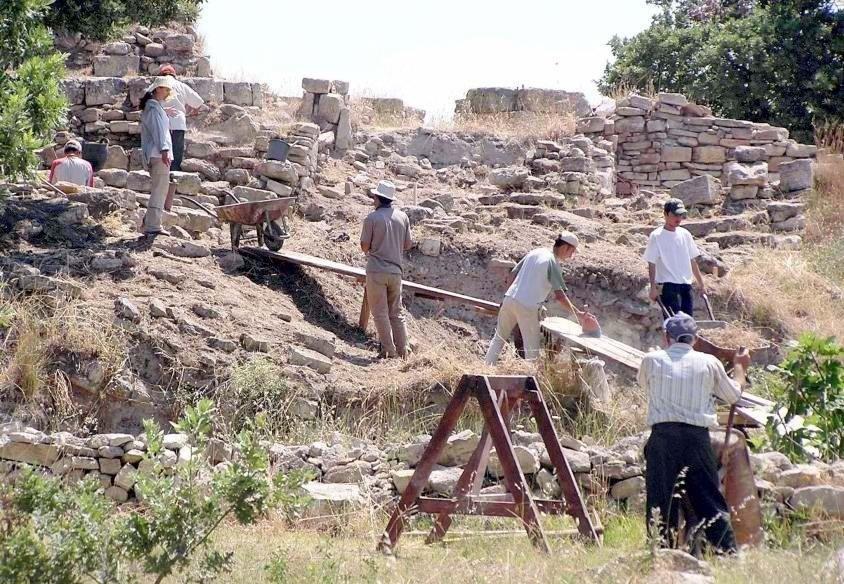 Troya'da Üçüncü Kutsal Alan Bulundu