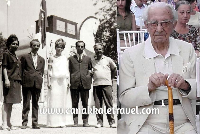 """Asırlık Çınar """"Troia Festivali""""nin Kuruluş Hikayesini Anlattı"""