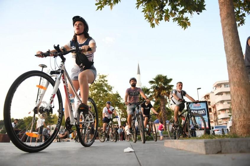 58. Troia Festivali'nde Bisiklet Turu Etkinliğine Büyük İlgi