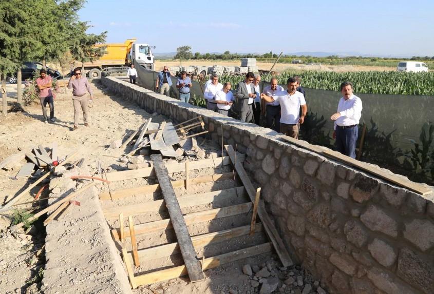 Dünya Kültür Mirası Troya'da Çalışmalar Devam Ediyor