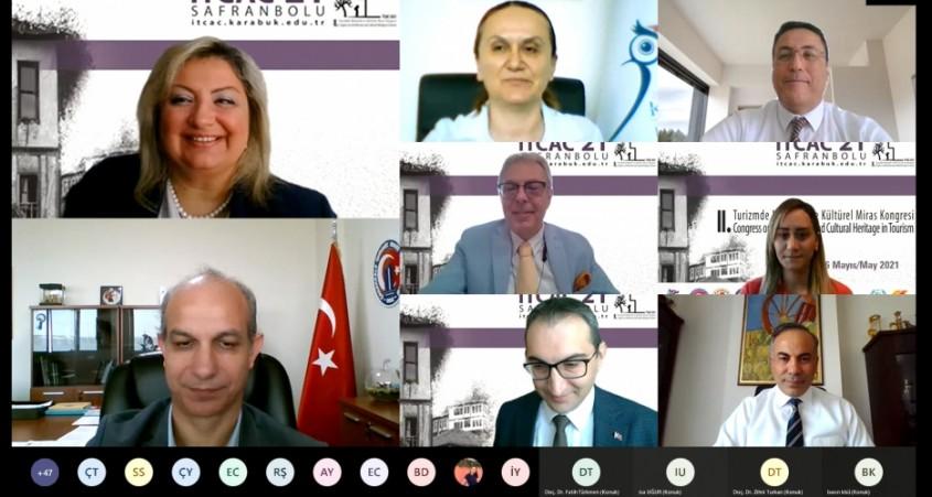 """""""Turizmde Mimarlık ve Kültürel Miras Kongresi"""" Başladı"""