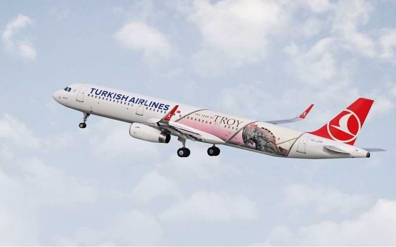 """Türk Hava Yolları'nın Yeni Uçağının Adı """"Assos"""" Olsun"""