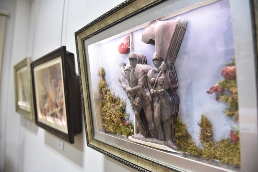 Çanakkale Savaşını Üç Boyutlu Tablolarla Anlattı