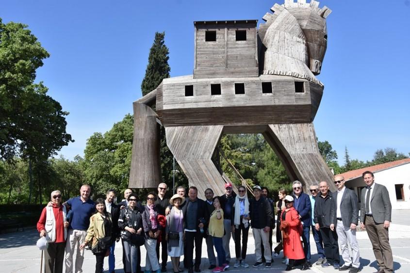 Uluslararası Kültür ve Sanat Tur Operatörleri Çanakkale'de...