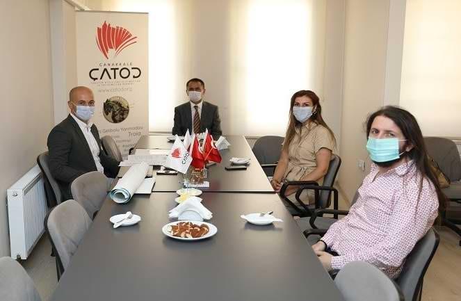 Vali İlhami Aktaş'tan ÇATOD'a Ziyaret