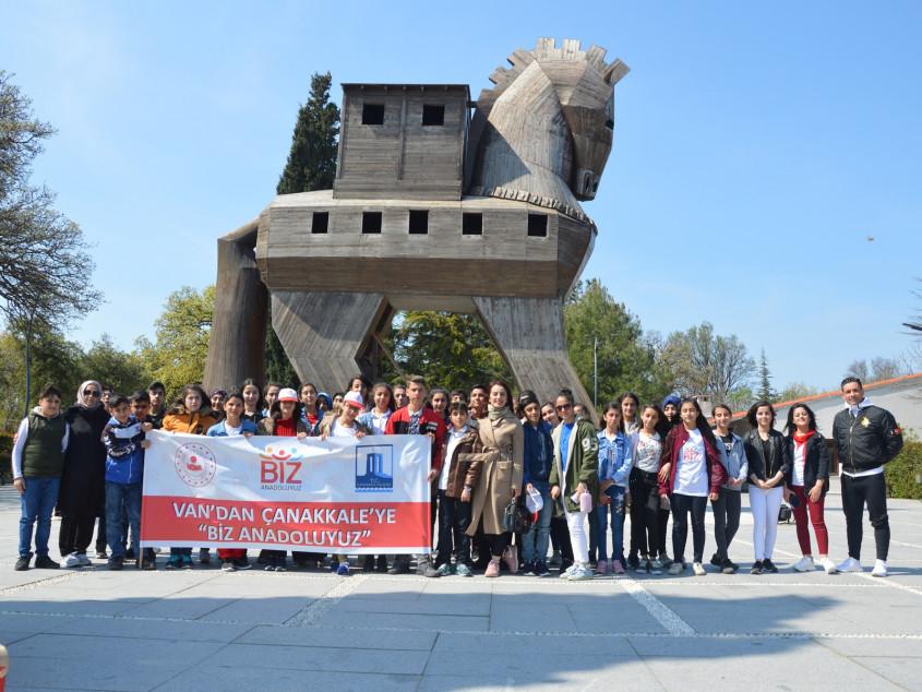 Van'lı Öğrenciler Çanakkale'yi Gezdi