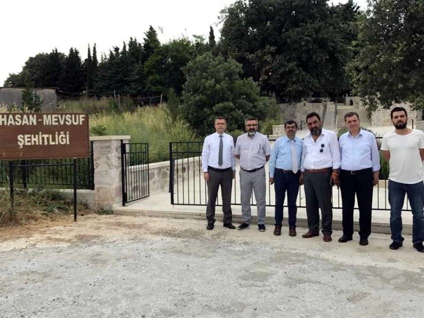 Genel Müdür Yardımcısı Harmanda Çanakkale'de İncelemelerde Bulundu