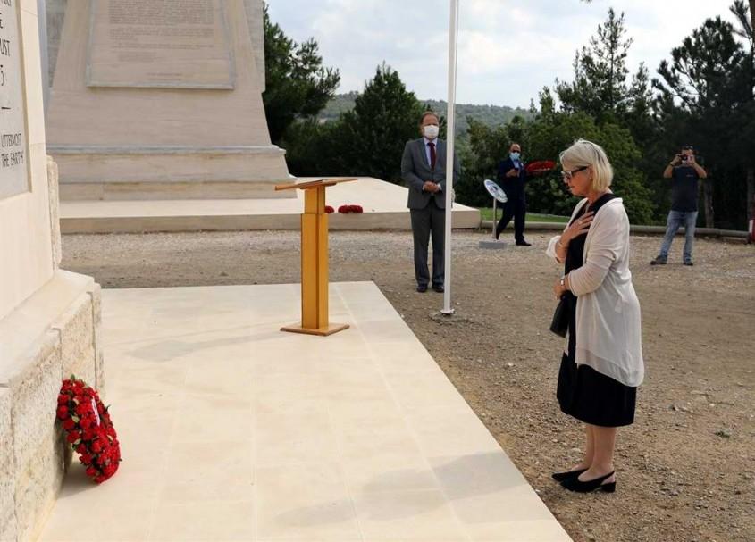 Yeni Zelanda Anıtı'nda Anma Töreni Gerçekleştirildi