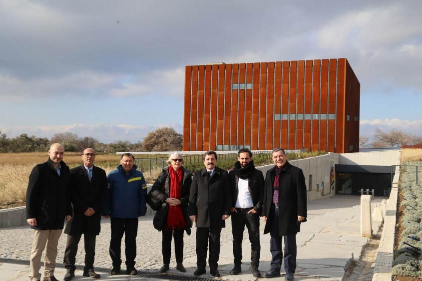 Yeni Zelanda'nın Ankara Büyükelçisi Hinton, Troya'yı Ziyaret Etti