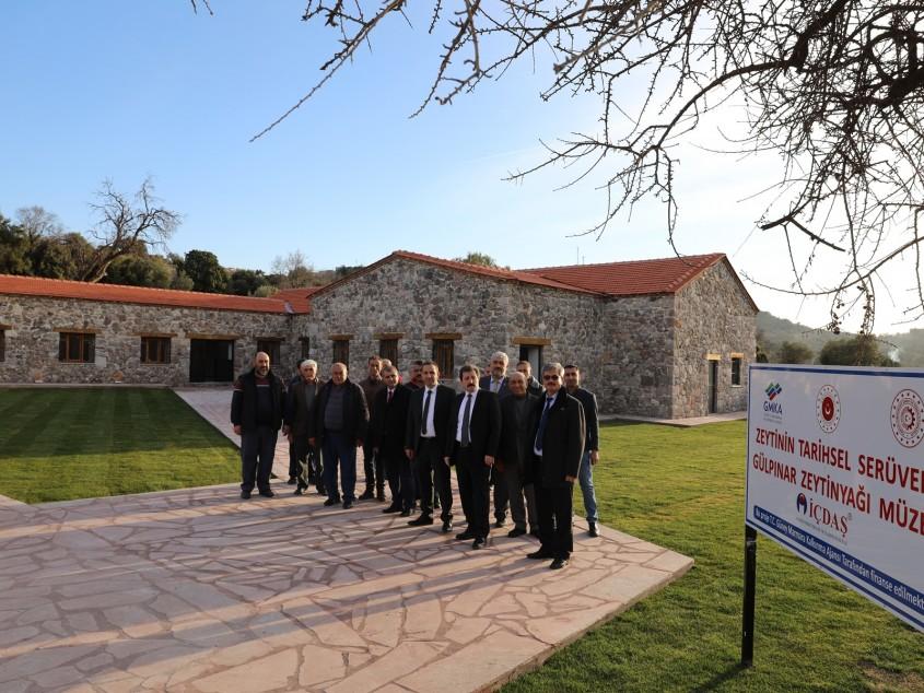 """Zeytinin Tarihsel Serüveni: """"Troas Bölgesi-Gülpınar Zeytinyağı Müzesi"""""""