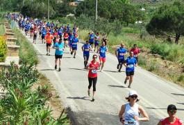 Bozcaada'da Maraton İzdihamı