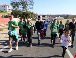 """Binlerce Kişi """"Gelibolu Maratonu""""nda Koştu"""
