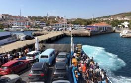 Bozcaada-Geyikli Feribot Sefer Sayısı Haftada 2 Güne İndirildi