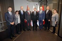 Çanakkale Heyetinden TÜRSAB Genel Başkanına Ziyaret