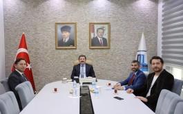 Rehberler Odası Yönetiminden Vali Tavlı'ya Ziyaret