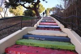 Çanakkale'de Merdivenler Kitaba Boyandı