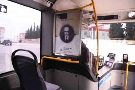"""""""Çanakkale'nin Evlatları"""" Toplu Taşıma Araçlarında Sergileniyor"""