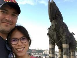 Çanakkale'ye Taylandlı Gelin