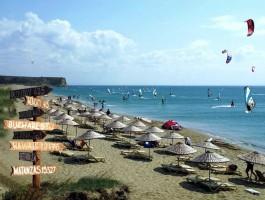 Gökçeada'da Sörf Turizmine İlgi Artıyor