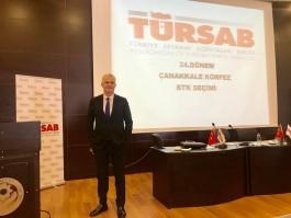 Ahmet Çelik Yeniden TÜRSAB Çanakkale Körfez BTK Başkanı