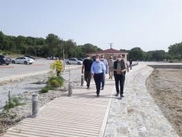 Yeniköy Plajı Çadırlı Kamp Alanı Yeniden Düzenleniyor